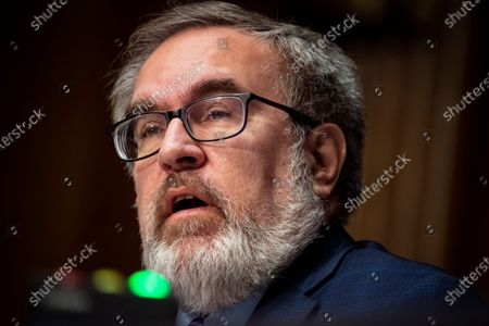 Andrew Wheeler, Administrator, United States Environmental Protection Agency (EPA), speaks during a US Senate Environment and Public Works Committee hearing, on Capitol Hill in Washington, D.C., U.S.,.