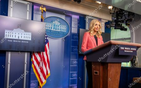 Editorial picture of Press Secretary Kayleigh McEnany holds a Press Briefing at the White House, Washington, District of Columbia, USA - 20 May 2020