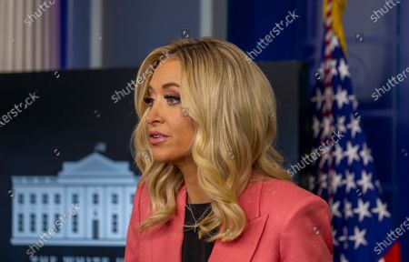 Editorial photo of Press Secretary Kayleigh McEnany holds a Press Briefing at the White House, Washington, District of Columbia, USA - 20 May 2020