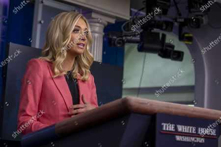 Editorial image of Press Secretary Kayleigh McEnany holds a Press Briefing at the White House, Washington, District of Columbia, USA - 20 May 2020