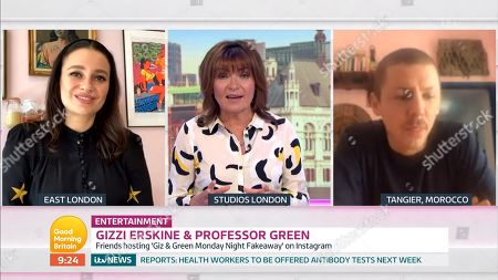 Editorial picture of 'Good Morning Britain' TV Show, London, UK - 21 May 2020