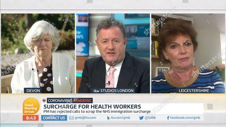 Ann Widdecombe, Piers Morgan, Guest