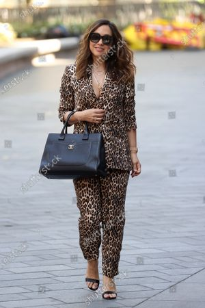 Editorial image of Myleene Klass out and about, London, UK - 21 May 2020