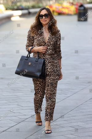 Editorial picture of Myleene Klass out and about, London, UK - 21 May 2020