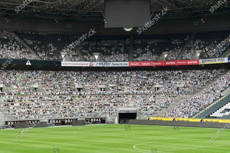 Editorial picture of Cardboard cut-outs instead of fans, Borussia-Park, Moenchengladbach, Germany - 20 May 2020