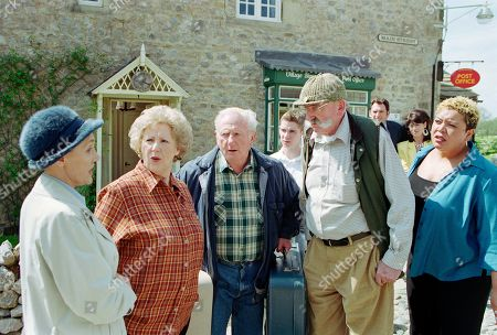 Editorial image of 'Emmerdale' TV Show UK  - Jun 2002
