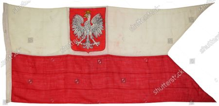 Free Polish Navy Battle Ensign will be sold at the aution  The bravery medals of a hero seaman who took on the Bismarck and defended Clydebank against the might of the Luftwaffe are being sold by his family for £12,000.  Chief Petty Officer Boleslaw Lassa, of the Free Polish Navy, served on board the Piorun which duelled with the notorious 823ft long German battleship.  On the evening of May 26, 1941, the Piorun cited the Bismarck and opened fire after transmitting the message 'I am a Pole' in defiance of their country's occupiers.  Days earlier, the 42 tonnes behemoth had sunk the Royal Navy battlecruiser HMS Hood killing 1,415 of its crew, prompting Winston Churchill's famous order to 'sink the Bismarck'.