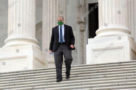 United States Senator Rob Portman (Republican of Ohio) leaves the United States Capitol in Washington D.C., U.S..