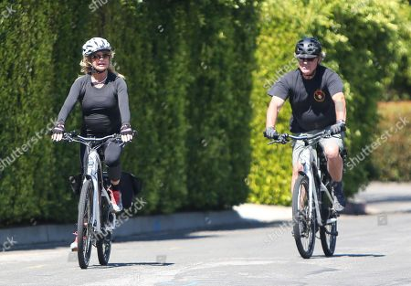 Editorial picture of Goldie Hawn and Kurt Russell out and about, Los Angeles, USA - 21 May 2020