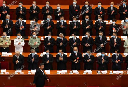 Editorial photo of National People's Congress in Beijing, China - 22 May 2020