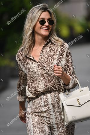 Stock Image of Ashley Roberts at Heart Breakfast, Global House
