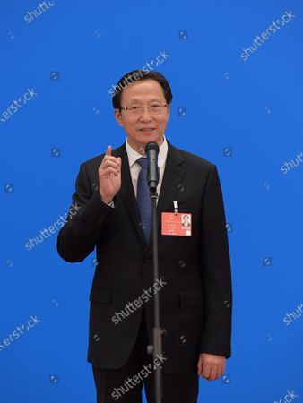 Editorial photo of China Beijing Npc Ministers Interview - 22 May 2020