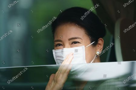 Editorial image of Japanese Empress Masako at the Imperial Palace for Sericulture of Japanese Imperial traditional work, Tokyo, Japan - 22 May 2020