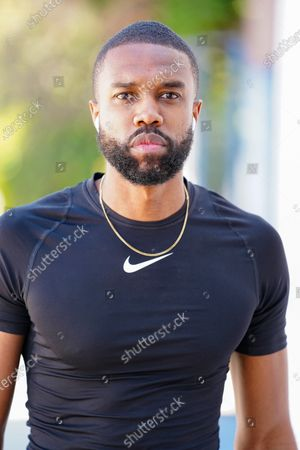 Editorial photo of DeMario Jackson out and about, West Hollywood, Los Angeles, USA - 21 May 2020