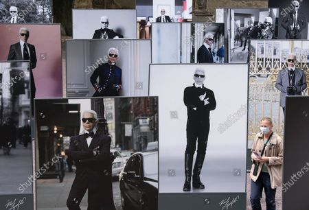 Editorial photo of Virus Outbreak Lagerfeld, Halle, Germany - 22 May 2020
