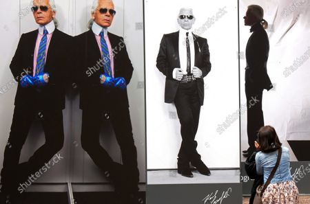 Editorial picture of Virus Outbreak Lagerfeld, Halle, Germany - 22 May 2020