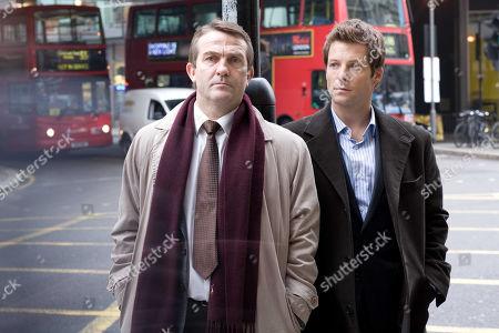 Bradley Walsh and Jamie Bamber in Law & Order: UK.