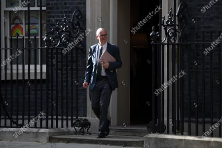Editorial image of Politicians in Westminster, London, UK - 22 May 2020