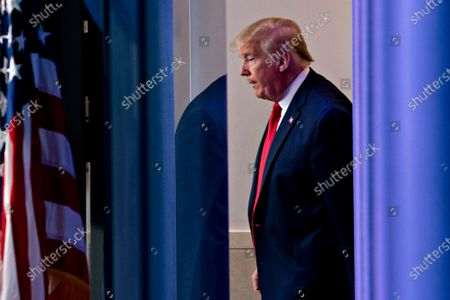 Editorial image of President Trump Holds Press Briefing, Washington, District of Columbia, USA - 22 May 2020