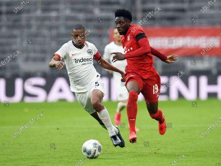Editorial photo of Bayern Munich vs Eintracht Frankfurt, Germany - 23 May 2020