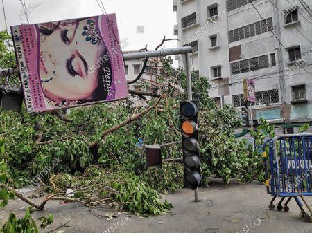 Editorial image of Devastating Kolkata due to Amphan, India - 23 May 2020