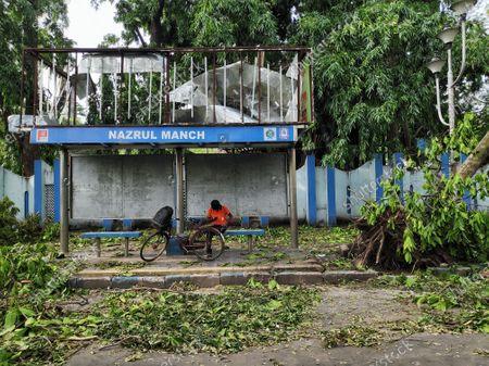 Editorial picture of Devastating Kolkata due to Amphan, India - 23 May 2020