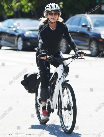 Editorial photo of Goldie Hawn and Kurt Russell out and about, Los Angeles, USA - 24 May 2020