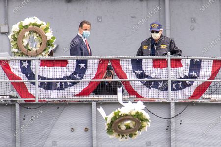 Editorial photo of Memorial Day Ceremony in New York, US - 25 May 2020