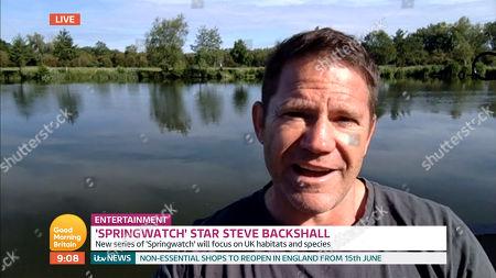 Stock Photo of Steve Backshall