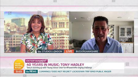 Lorraine Kelly, Tony Hadley