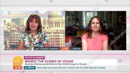 Editorial photo of 'Good Morning Britain' TV Show, London, UK - 26 May 2020