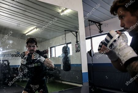 MMA fighter Brian Moore, who competes in the Bellator MMA promotion and trains with SBG Gym