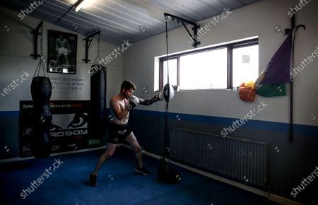 Stock Picture of MMA fighter Brian Moore, who competes in the Bellator MMA promotion and trains with SBG Gym