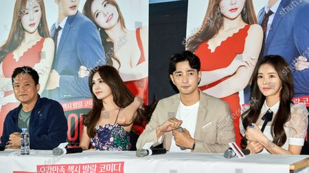 Editorial image of 'Complete conquest of love' film premiere, Seoul, South Korea - 26 May 2020