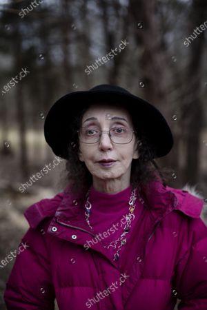 Editorial image of Joyce Carol Oates photoshoot, Princeton, USA - 27 Jan 2020
