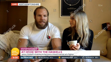 James Haskell and Chloe Madeley