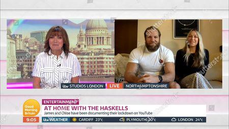 Editorial photo of 'Good Morning Britain' TV Show, London, UK - 27 May 2020