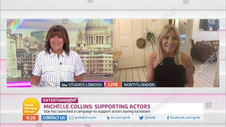 Lorraine Kelly and Michelle Collins