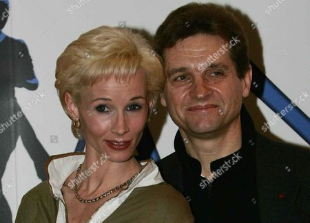 Ballerina Zara Deakin And Creator/director Peter Schaufuss During A Photocall At The Covent Garden Hotel To Launch His New Production Of 'diana The Princess' In London.