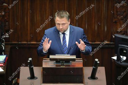 Editorial photo of Parliamentary debate in Sejm, Warsaw, Poland - 27 May 2020