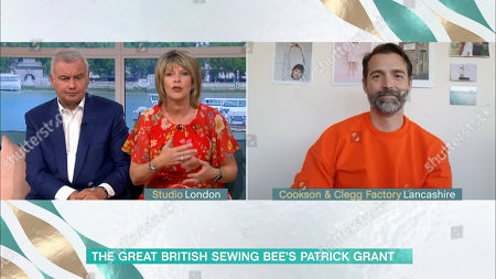 Stock Photo of Ruth Langsford, Eamonn Holmes and Patrick Grant