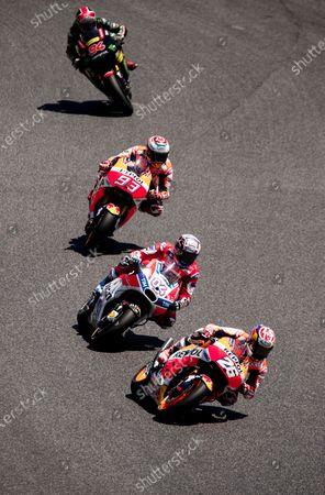 Editorial picture of Moto GP Race Day, Barcelona Circuit, Montmelo, Catalunya, Spain - 11 Jun 2017