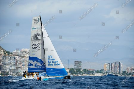 Editorial photo of Volvo Ocean Race Alicante Start, Spain - 22 Oct 2017