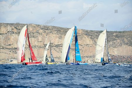 Editorial picture of Volvo Ocean Race Alicante Start, Spain - 22 Oct 2017