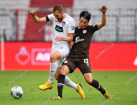 Editorial picture of FC St. Pauli vs 1. FC Heidenheim 1846, Hamburg, Germany - 27 May 2020