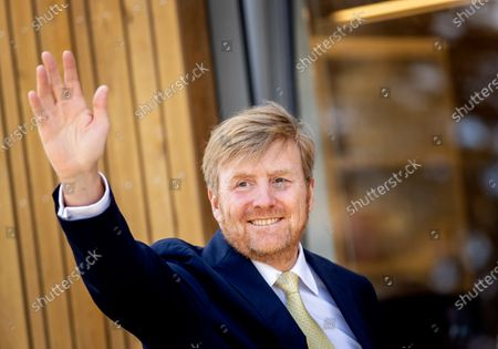 King Willem Alexander visit to Groningen