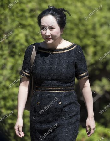 Huawei CFO Meng Wanzhou at the Supreme Court, Vancouver