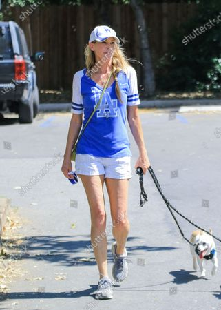 Kathleen Kinmont out and about, Los Angeles