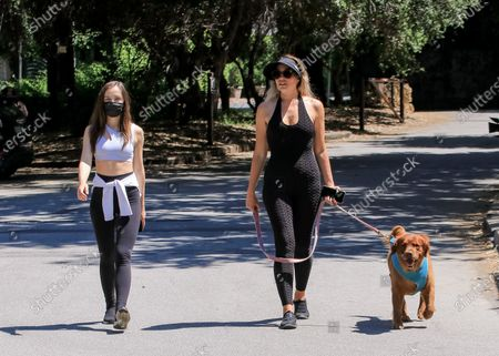 Editorial photo of Natasha Alam and Anna Walt out and about, Los Angeles, USA - 27 May 2020
