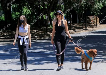 Editorial image of Natasha Alam and Anna Walt out and about, Los Angeles, USA - 27 May 2020